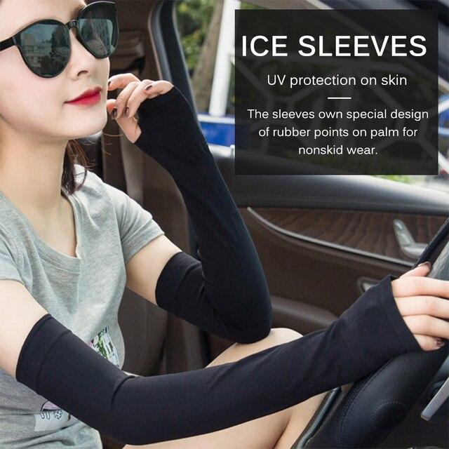 2Pcs Braço MangasEsportes Luva Sun UV Proteção Tampa de Mais Quente Correndo Pesca Ciclismo Ski mangas parágrafo brazo 6