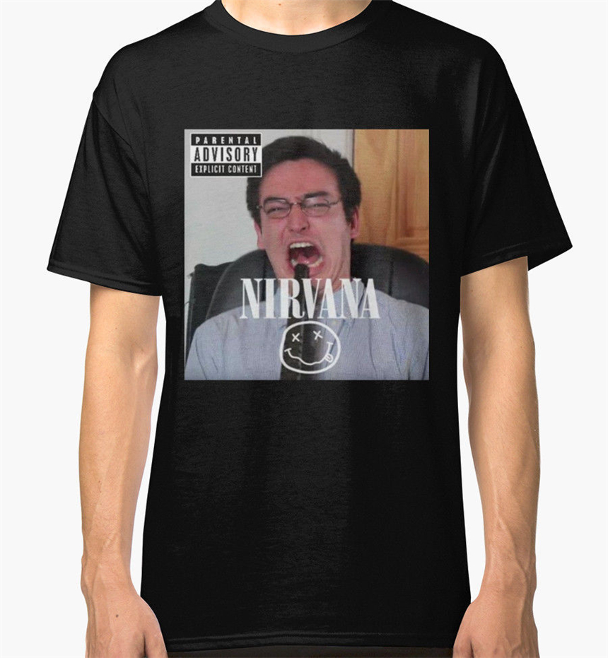 Filthy Frank Life Hacks Men'S Black Tees Shirt Clothing Large Sizetee Shirt image