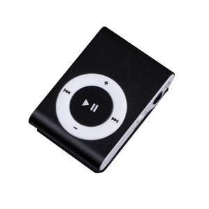 Лидер продаж, 1-8 Гб, поддержка Micro SD TF, мини-зажим, металлический USB, MP3, музыкальный медиаплеер, поддержка, оптовая продажа и Прямая поставка
