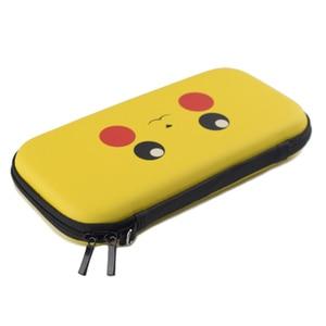 Image 3 - PU Сумка для хранения Nintendo Switch Lite, жесткий EVA Дорожный Чехол, силиконовый чехол для Nintendo Switch NS Lite, защитные аксессуары