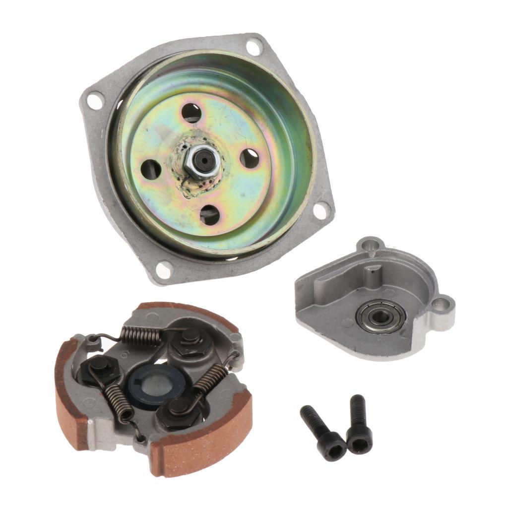 NEW 7T Gear Box Clutch Drum Bell for 47cc 49cc Mini Pocket Dirt Bike ATV, Metal