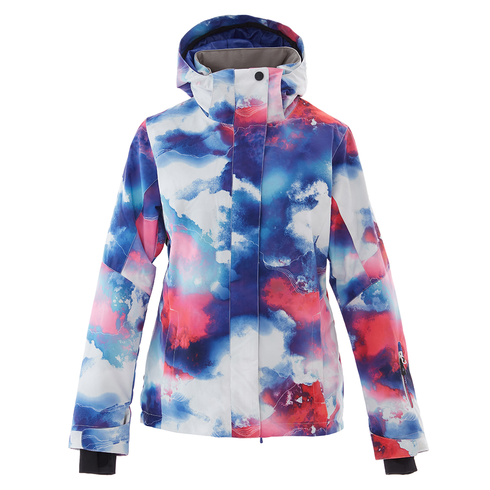 SIMAINING femmes hiver veste de Ski chaude Ski snowboard veste manteau de neige coupe-vent imperméable Sport de plein air vêtements - 5