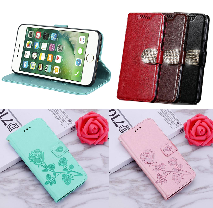 Wallet Case Flip Phone Cases for OPPO A11 K3 A9 A5 2020 A5s A1k A3s A12 AX7 Reno4 Reno 2 Z RX17 Neo R16 Pro TPU Phone Cases image