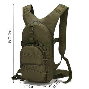 Image 2 - Scione sac à dos vert militaire, sac de voyage imperméable, Oxford décontracté, sac à dos de voyage pour femmes