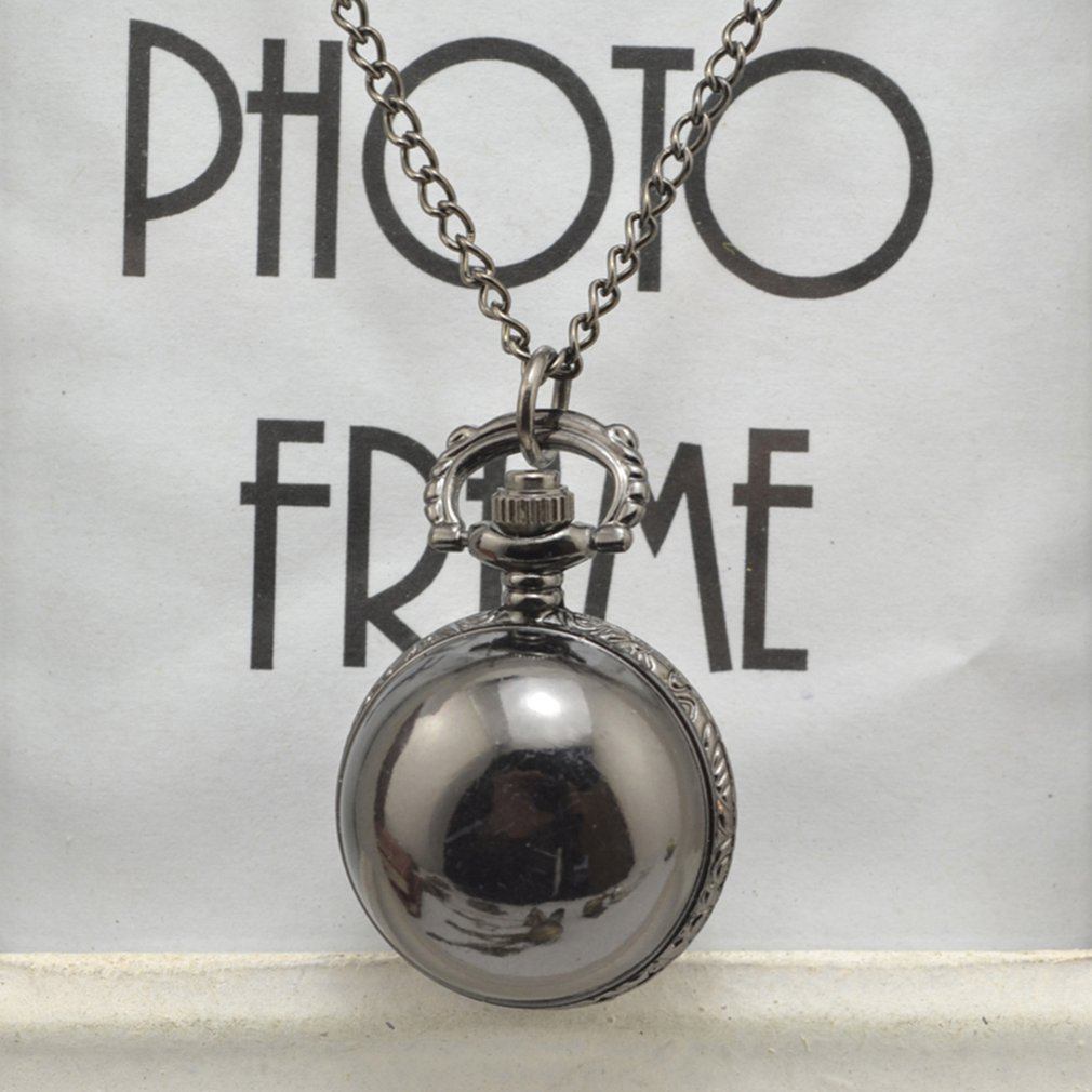 Vintage Antique Round Dial Quartz Pocket Watch Necklace Pendant Clock For Mens Womens Best Birthday Gifts