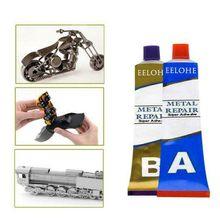 Colle Super puissante pour réparation de métaux, A + B, 100g, Colle pour fer et acier