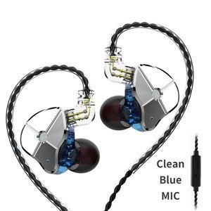 FDBRO ST1 1DD + 1BA гибридные наушники в ухо HIFI DJ монитор для бега спортивные наушники гарнитура с кабелем QDC TRN V90 BA5