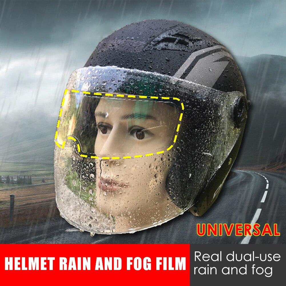 Film Anti buée transparent pour casque de moto visière bouclier revêtement animal de compagnie pratique multi fonctionnel résistant universel lentille Film   AliExpress