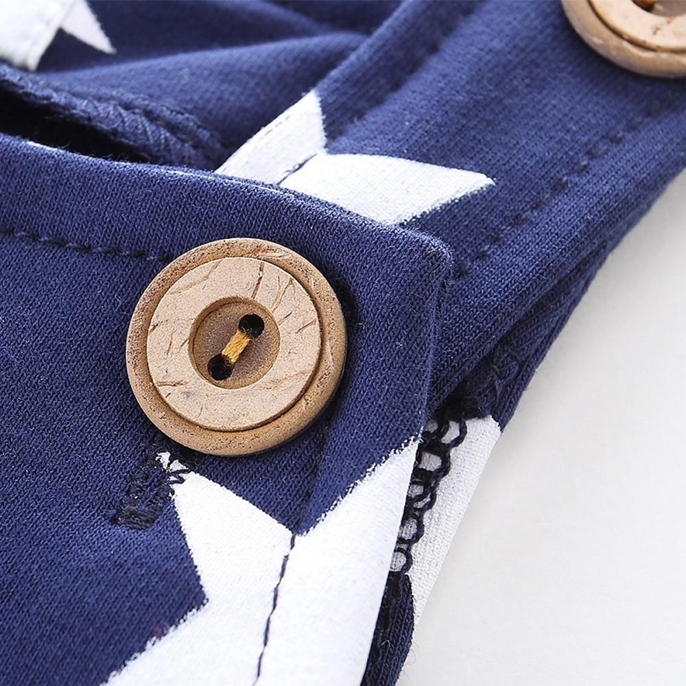 Купить с кэшбэком Mudkingdom New Born Baby Trousers CuteToddler Boys Overalls Star  Cotton Kids Suspender Baby Outwear Boys Girls Trousers