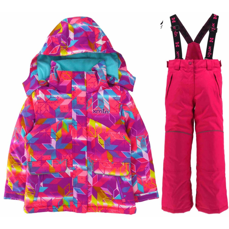 New warm thick boys and girls ski suits windproof waterproof outdoor suit winter warm suit outdoor clothes cloth clothing set