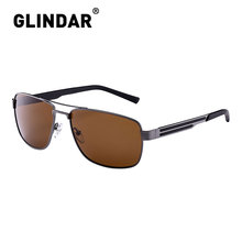 العلامة التجارية تصميم الرجال الاستقطاب النظارات الشمسية مربع القيادة نظارات شمسية للرجال