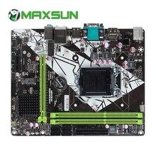 MAXSUN H81M-V3H M.2 Earthshaker материнская плата LGA1150 двухканальный DDR3 m2 PCI-E слот для графической карты VGA+ HDMI материнская плата