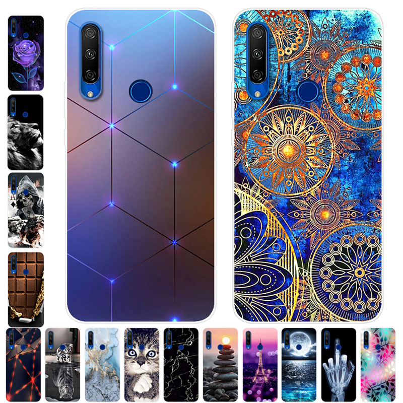 Für Huawei Honor 9X STK-LX1 Fall Weiche Silikon Zurück Fall für Coque Ehre 9X Premium Telefon Abdeckung Honor9X Globale Klar stoßstange TPU