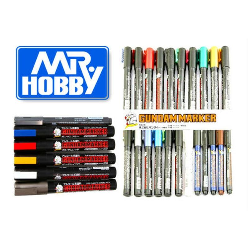 Mr. Hobby Gundam Gunze GSI Color Marker GM04-GM19 Gunpla Model Kit Paint Pen