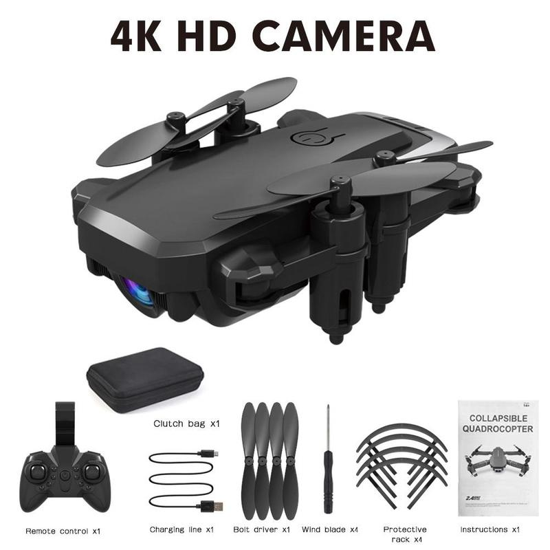 Profession Drone 4K HD Camera WIFI 16MP Dual Camera 360 Degree Quadcopter FPV Professional Drone Long Battery Life Toys For Kids image