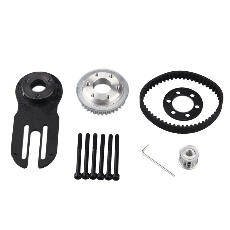 83mm 90mm 97mm Electrical Skateboard 1800W Motor 5M Gear 270mm Belts Kit And Mot
