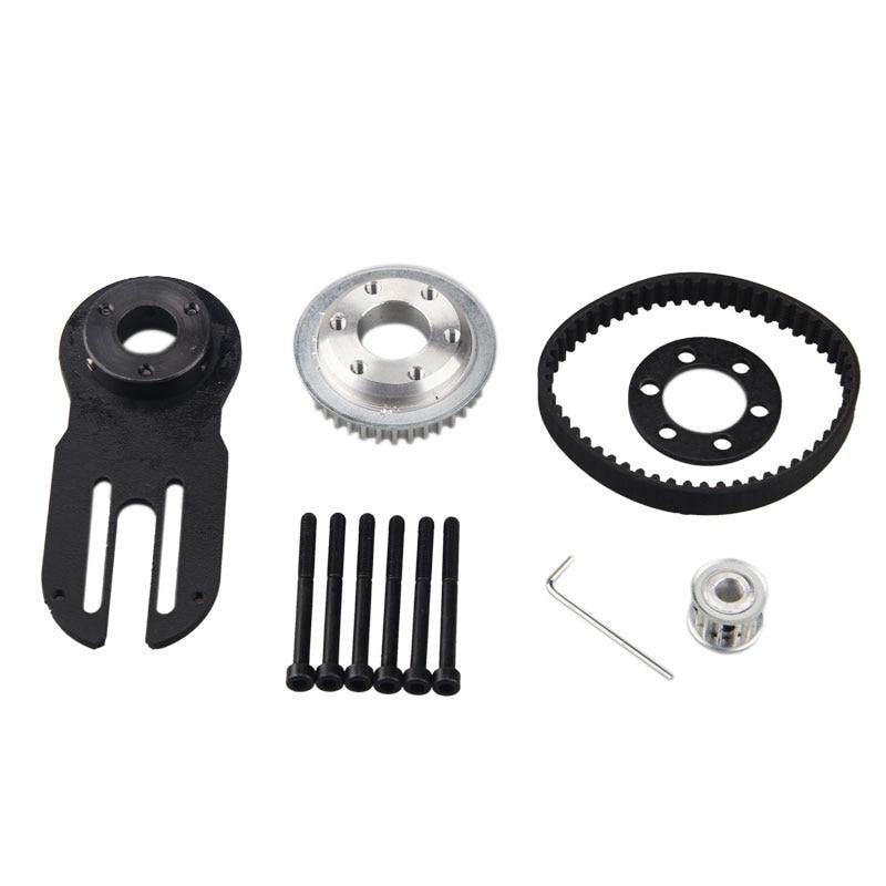 83mm 90mm 97mm Electrical Skateboard 1800W Motor 5M Gear 270mm Belts Kit And Mot