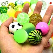 5/10個混合弾むボールカプセルマシンおもちゃスイカゴムボール弾性ゴムボールおかしいのおもちゃlxx