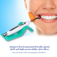 LED Curing Light Dental Wired & Wireless Cordless Dentist Cure Lamp 5W Dental Oral Curing Light