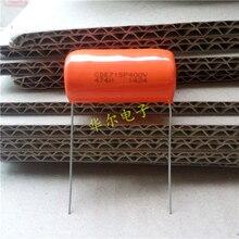 10PCS CDE SPRAGUE CDE715P 400V0.47UF P35MM Orange fever film capacitor MKP SBE 474H CDE715P400V 715P 474