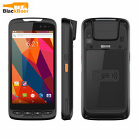Mosthink M598 MT8735A do Smartphone Quad Core Android 8.1 Do Telefone Móvel IP65 1D QR Laser À Prova D' Água/2D Barcode Scanner NFC celular