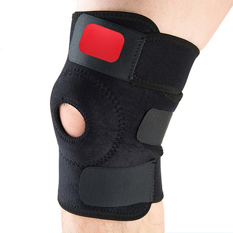 Basketball Climbing Sports Training Elastic Knee Adjustable Brace Support Insulated Recovery Safety Compression Sleeve