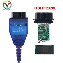 Kkl VAG 409 KKL vag, câble dinterface pour Scanner automatique pour voiture multi marques, avec FTDI FT232RL, version la plus récente