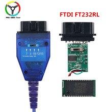 O mais novo v 409 com cabo diagnóstico automático da relação do cabo do varredor do automóvel de ftdi ft232rl para carros do multi-tipo