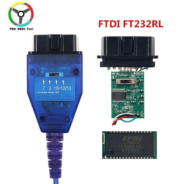Più nuovo VAG 409 kkl vag con FTDI FT232RL Auto Scanner Cavo KKL Auto Diagnostica Cavo di Interfaccia Per Il Multi brand auto