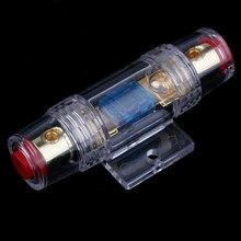 1 шт. 60A держатель предохранителя Предохранитель блок для Автомобильный Динамик-сабвуфер усилитель