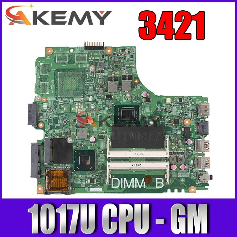 laptop motherboard For DELL inspiron 2421 3421 5421 CN-0PTNPF 0PTNPF 12204-1 DNE40-CR PWB:5J8Y4 1017U CPU