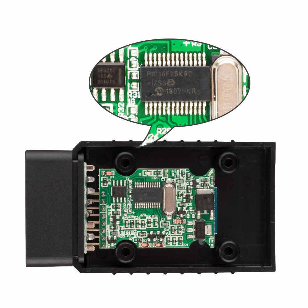 プロフェッショナル診断スキャナーコードリーダーツールイーサネット obd 自動ツール elm 327 bluetooth OBD2 車アクセサリー技術