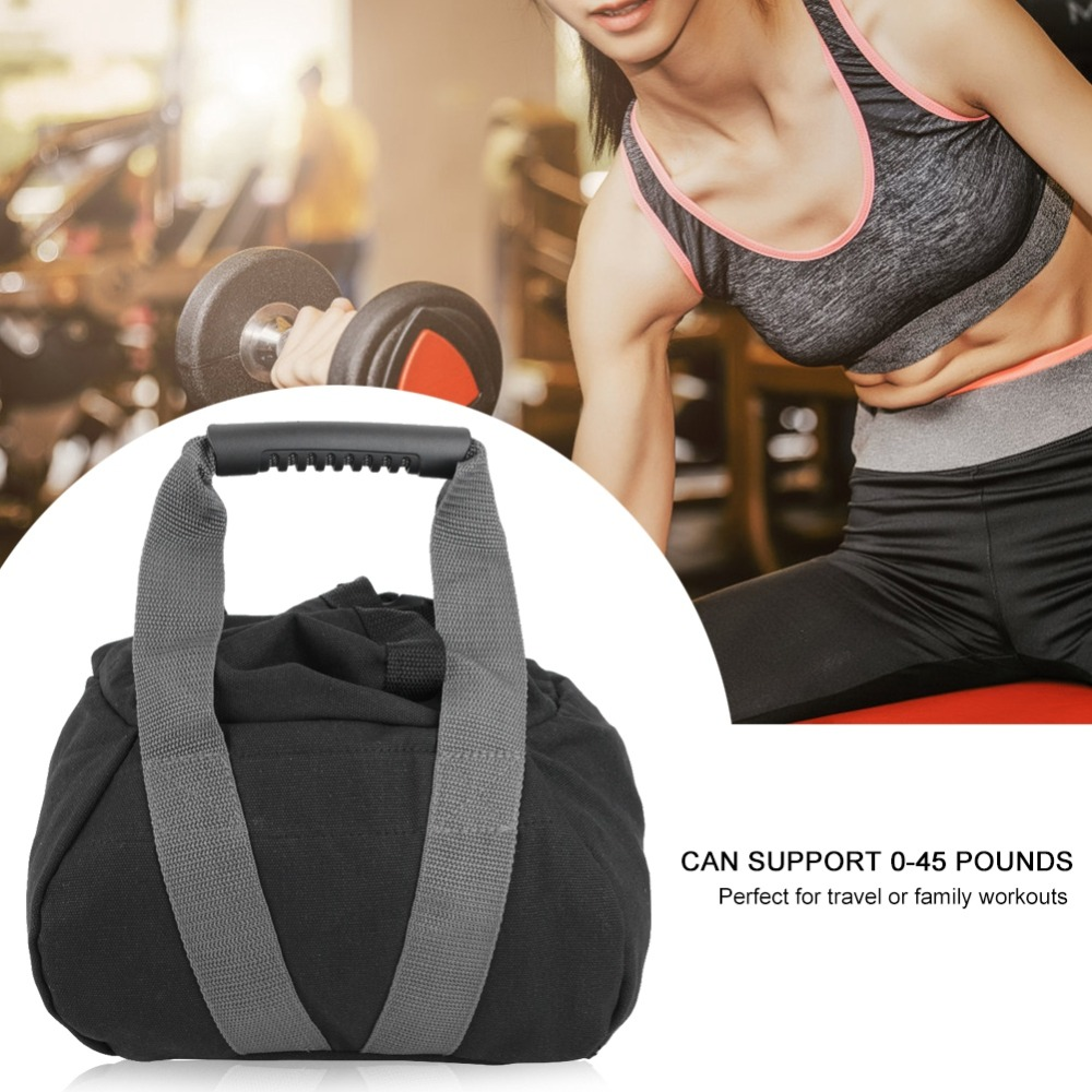 JLDUP Fitness Weights Sandbags Training Exercise Heavy Duty Workout Gym Sandbag for Functional Strength Training Dynamic Load Exercises