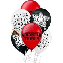 12 adet Stranger şeyler balonlar lateks balon doğum günü partisi süslemeleri oyuncaklar parti malzemeleri Globos