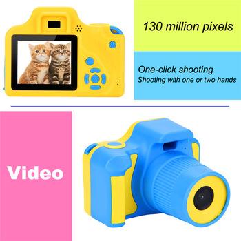 Trzy generacje nowych mini puzzle aparat fotograficzny HD zabawki dla dzieci aparat cyfrowy aparat fotograficzny SLR 1 3MP aparat fotograficzny tanie i dobre opinie RICH Elektroniczny stabilizacja obrazu 16-50mm Naprawiono ostrości CMOS Brak 1 2 3 cali Hd (1280x720) 5 0MP Bateria litowa