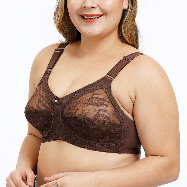 Plus Size Wireless Minimizer Bra 2