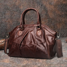 Cobbler Legend Brand Womens Ladies Genuine Leather Handbag Shoulder Genuine Leather 2019 New Arrival Women Messenger Bags