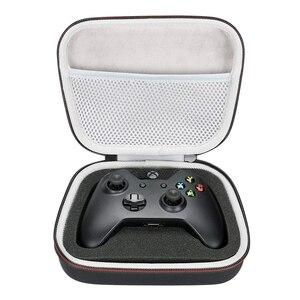 Image 1 - Estojo rígido eva para viagem, bolsa portátil para carregamento para xbox one/xbox one s/xbox one x 360 controlador com malha de bolso cabe plug