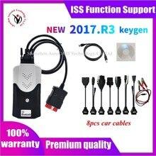 2021ใหม่ Vci Vd DS150E Cdp 2017.R3 2016.R0 Keygen VD TCS CDP Bluetooth เครื่องมือวินิจฉัยสำหรับ Delphis รถ/รถบรรทุก OBD2 Scanner