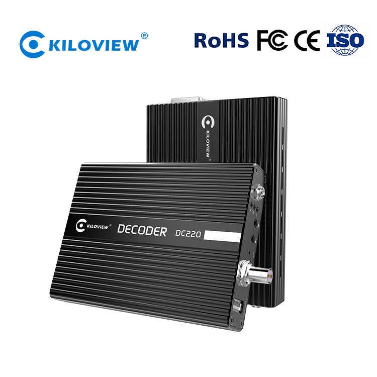 Kiloview Iptv Live Streaming Video Encoder Decoder, Rtmp Rtsp Rtp Naar Sdi Hdmi Vga Ip Decoder Hardware