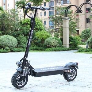 Image 2 - Flj 2400w adulto scooter elétrico com assento dobrável hoverboard pneu gordura kick scooter elétrico e scooter