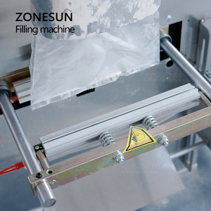 Image 2 - ZONESUN 10 999g Large Capacity Automatic Filling Sealing Machine Food Coffee Bean Grain Powder Bag Back Seal Packaging Machine