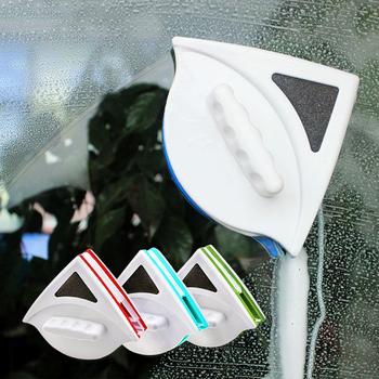 Magnetyczny do okna wycieraczka środek do czyszczenia szkła pędzel dwustronnie szczotka magnetyczna szyba okienna szczotka do mycia domowego urządzenia do oczyszczania tanie i dobre opinie Scourer Okno Ekologiczne ADQ0234WE