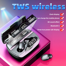 Nieuwe Tws Bluetooth Oortelefoon 5 0 Draadloze Hoofdtelefoon 8D Stereo Sport Waterdichte Oordopjes Headsets Met Microfoon cheap OIMG In-Ear Dynamische Cn (Oorsprong) Echte Draadloze 110dB hoofdtelefoon monitor voor video game voor mobiele telefoon