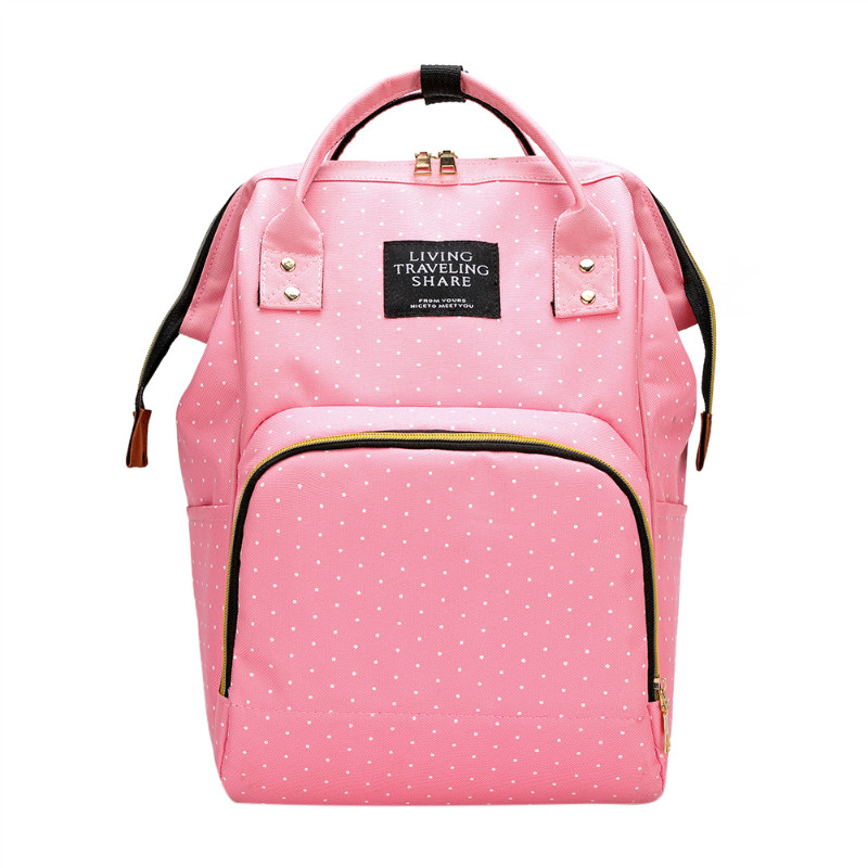 H55be510ffaed42a89b0971f1c03f96e4S Large Capacity Mummy Diaper Bags Zipper Mother Travel Backpacks Maternity Handbags Pregnant Women Baby Nappy Nursing Diaper Bags