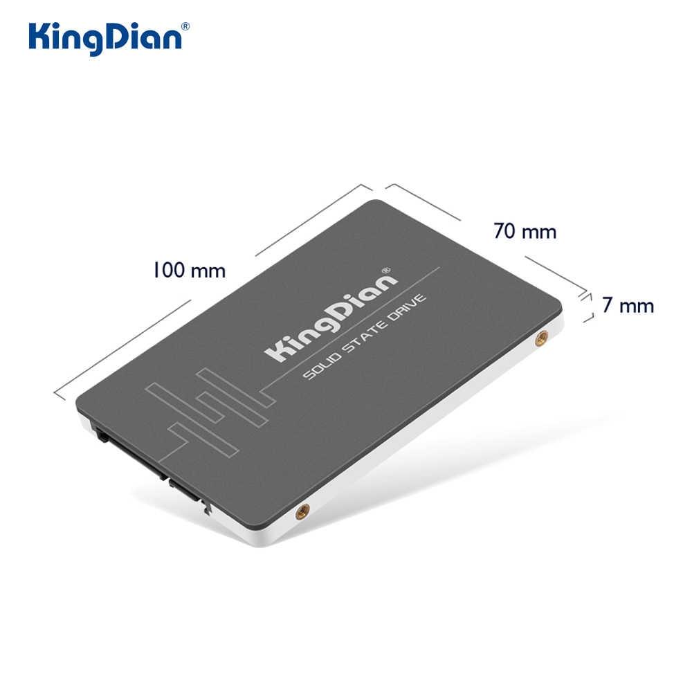 Kingdian Ad Alte Prestazioni 563.3/379.6 Mb/s Mb/S SATA3 Hard Disk Solid State Disk S280 480 Gb 512 gb Ssd