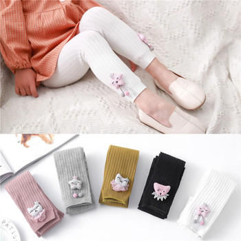 Knitted Baby Girls Tights Cartoon Baby Autumn Winter Pantyhose Fashion  2020 Tights For Girls Cute Baby Girl Stuff Age for 6M-3T