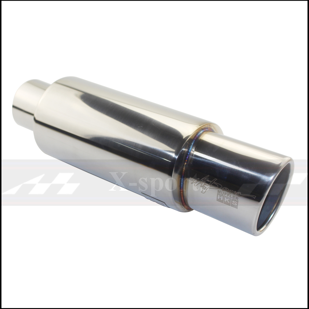 High Quality Car Exhaust Systems Tip Muffler Tail Pipe With Universal Fit 6