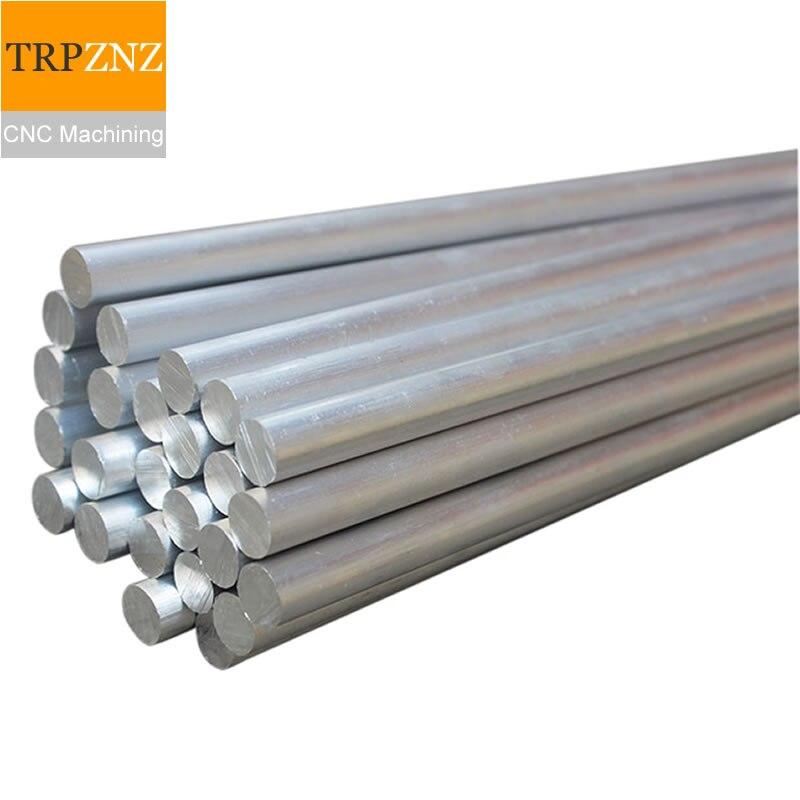 6061/7075 Aluminum Rod Machining, Aluminum Alloy /Aluminum Round Rod Bar, Lathe Processing Customized Aluminum Parts