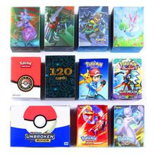 120 шт серии Pokemones карты GX Мега тег команда EX TAKARA TOMY карточная игра битва карта с коробкой